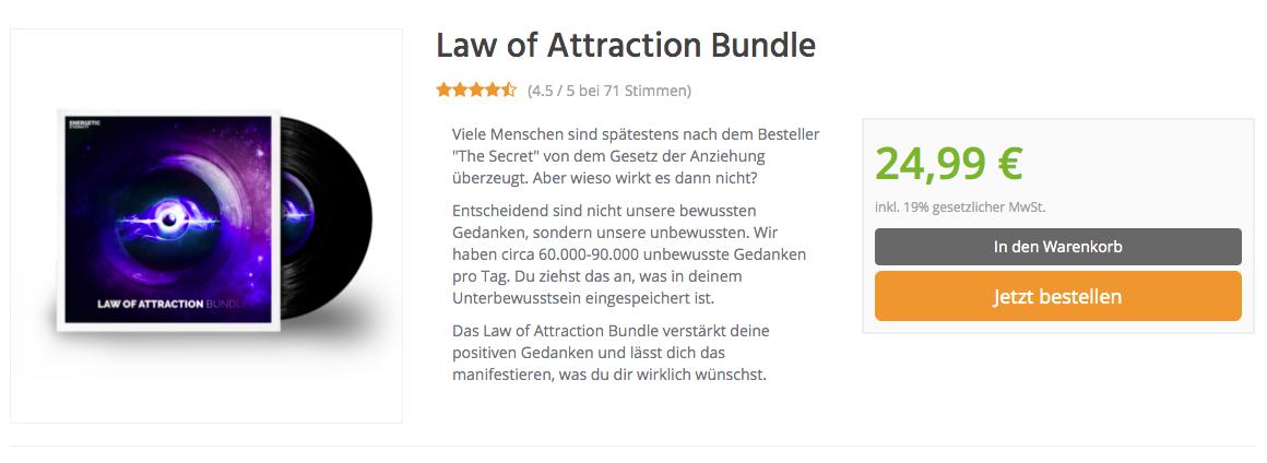 Law of Attraction Bundle Shop
