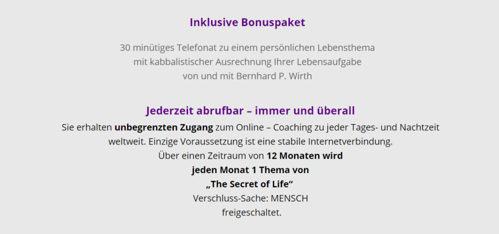 bonusinhalte-kurs-secret-of-life